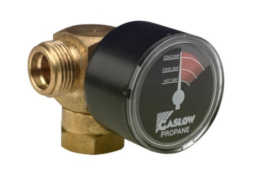 Gaslow manual changeover valve