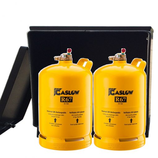 gas locker for twin 11kg gas bottles